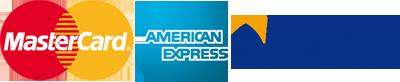 Mastercard American Express Visa