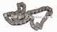 P 504V6, chain for the oil pump. Suitable for Peugeot 504 V6. Renault R30, Alpine V6. Wide one: 1 chain link, length: 44 chain links. | Artnr: 71180 | Der Franzose - www.franzose.de