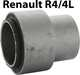 bushing rear axle R4, stepped 55x27,5mm + 42x26,5mm | Artnr: 83035 | Der Franzose - www.franzose.de