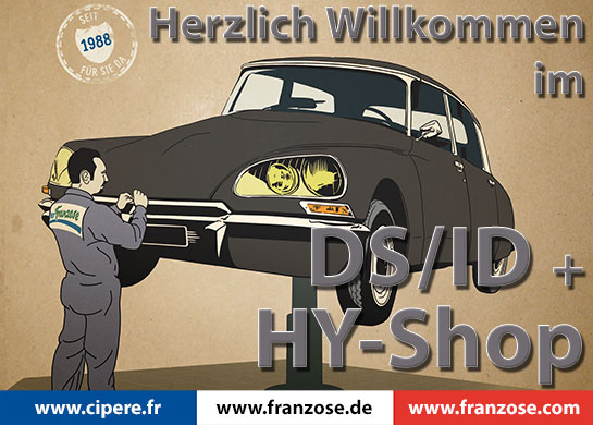 DS / ID, HY, Traction Avant Shop Der Franzose 2017