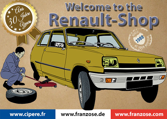 Renault Shop Welcome To Franzose Your Online Shop For