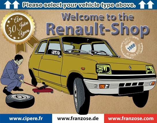 Renault - Shop | Welcome to Franzose de - your online shop